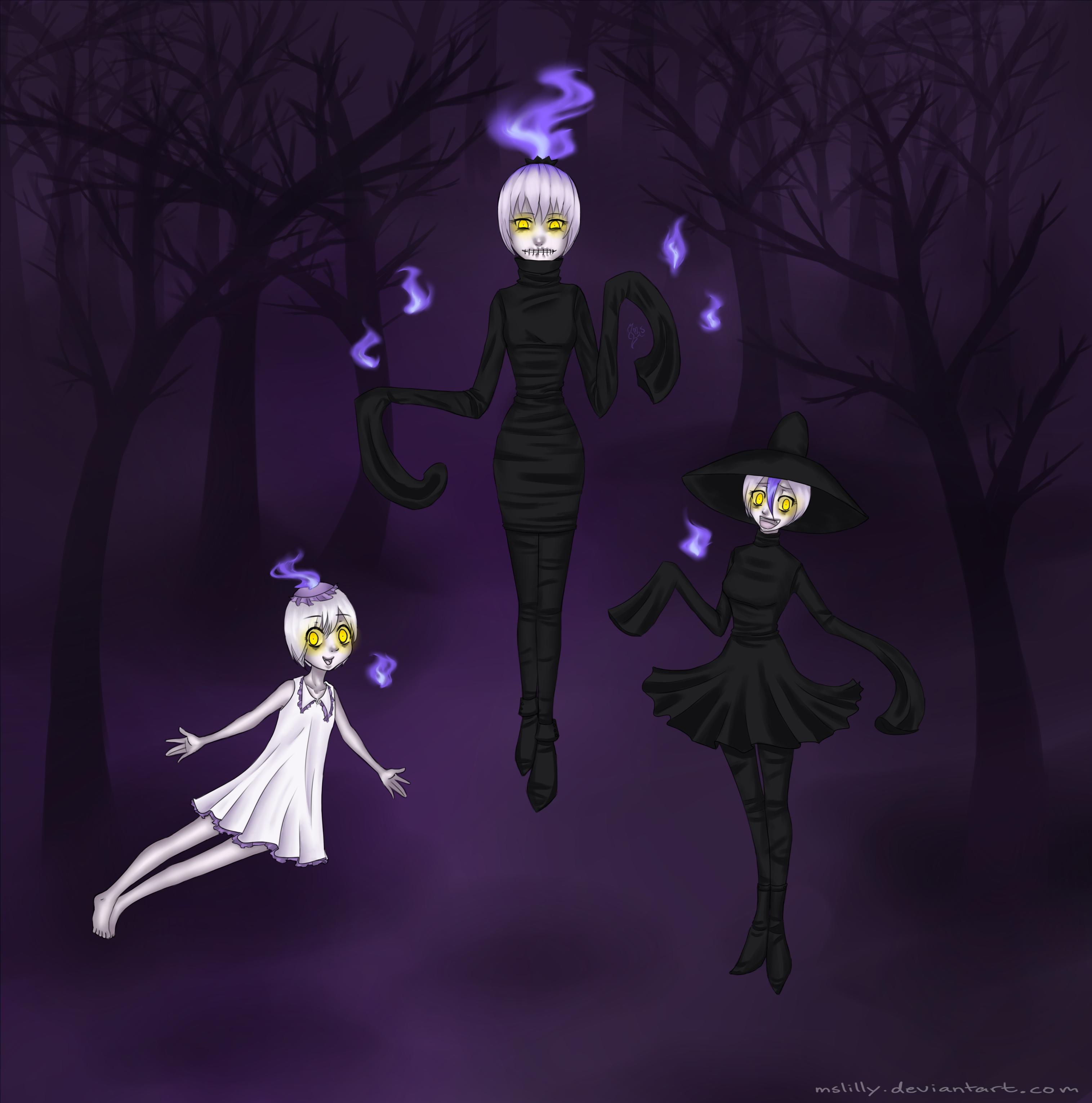 Litwick Family Gijinkas By MsLilly