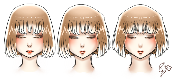 Hair colouring test by MsLilly