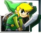 Zelda Spirit Tracks STAMP by FJLink