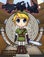 Chibi Link - Twilight Princess by FJLink