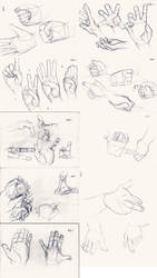 Hand Study by FJLink