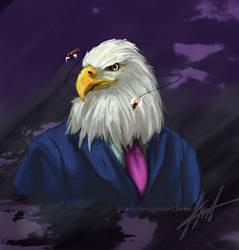 Commission: Filthy Eagle / Aguila Cochambrosa