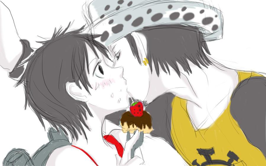 Lip Cake by c-lla