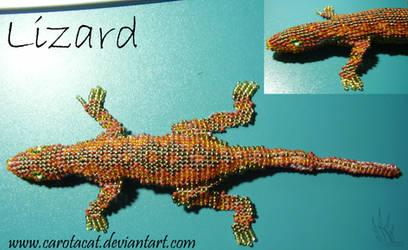 Lizard bead by Carota17