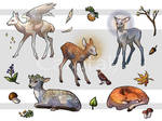 Fawn Stickers