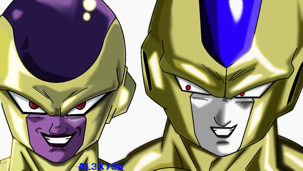 Frieza and Cooler God form fukkatsu no f 2 fanart by ... Frieza Vs Cooler