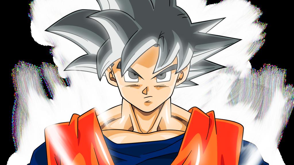 Goku SSJ white god style palette render by AL3X796