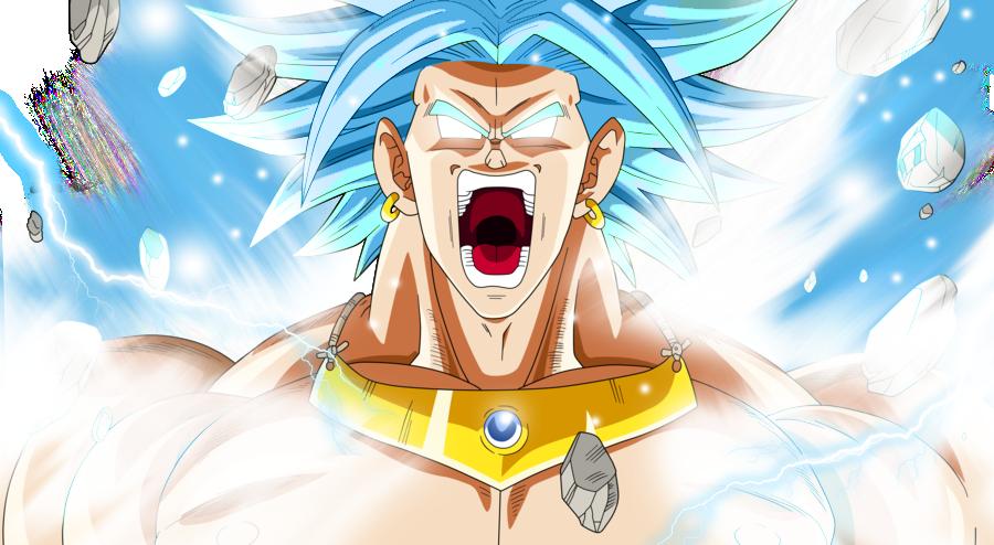 Broly Lssj Blue Dragon Ball Super By AL3X796 On DeviantArt