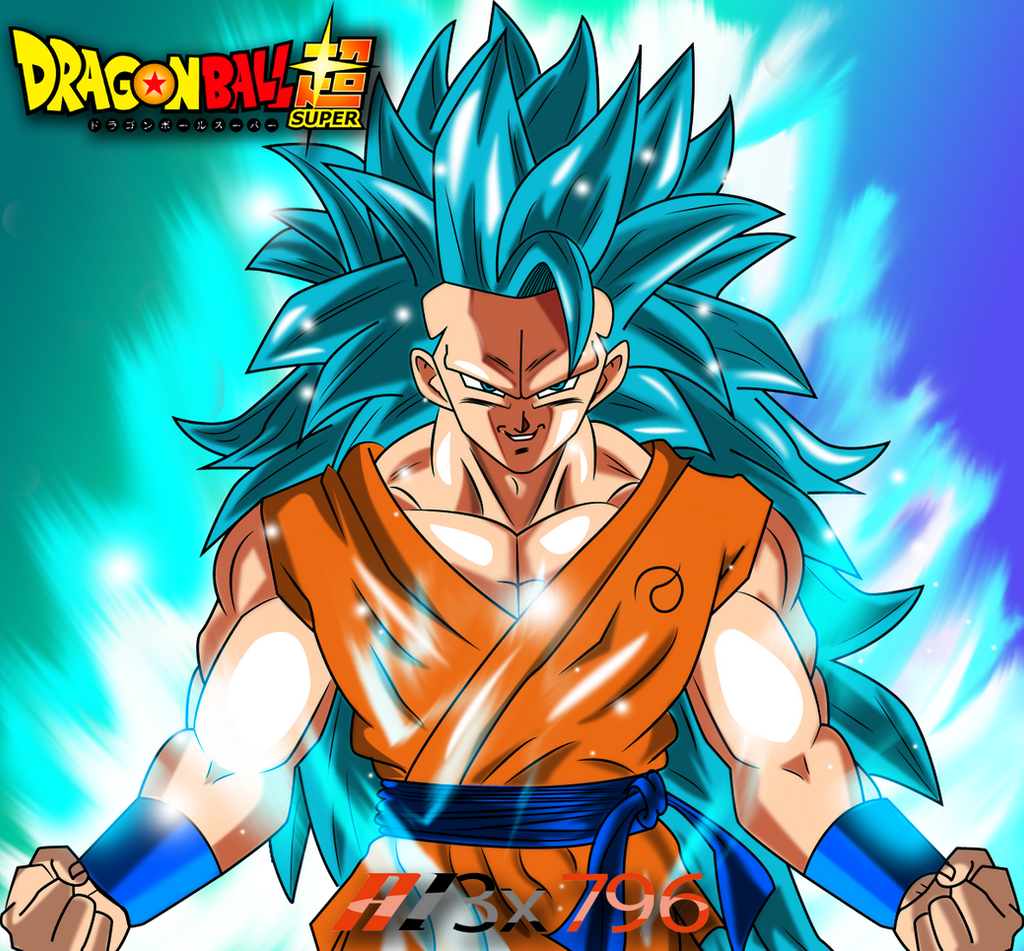 Goku Ssj3 Blue Wallpaper By AL3X796