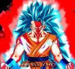 Goku ssj3 blue Kaioken