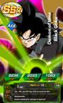 Black Goku Dokkan Battle Card SSR Fanmade