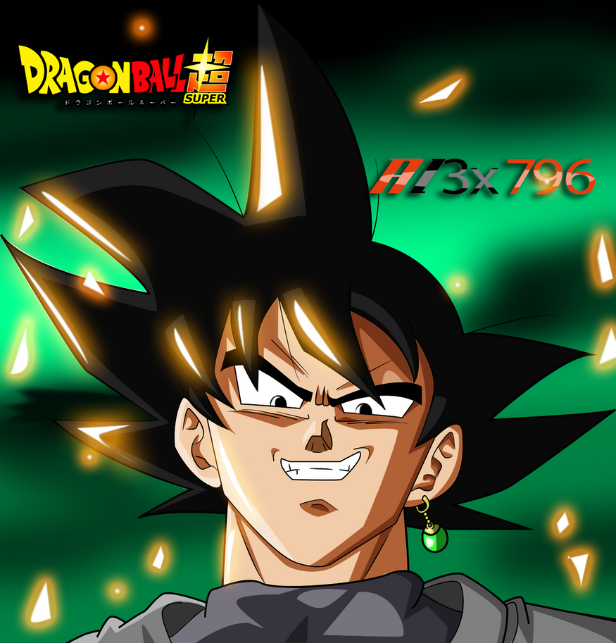 Goku Black City Manga Style Render By AL3X796 On DeviantArt