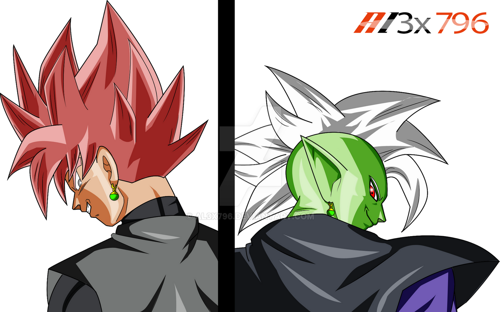 Zamasu And Black Fusion ? By AL3X796 On DeviantArt