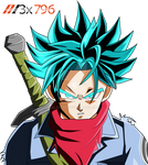 Trunks ssj blue xenoverse palette