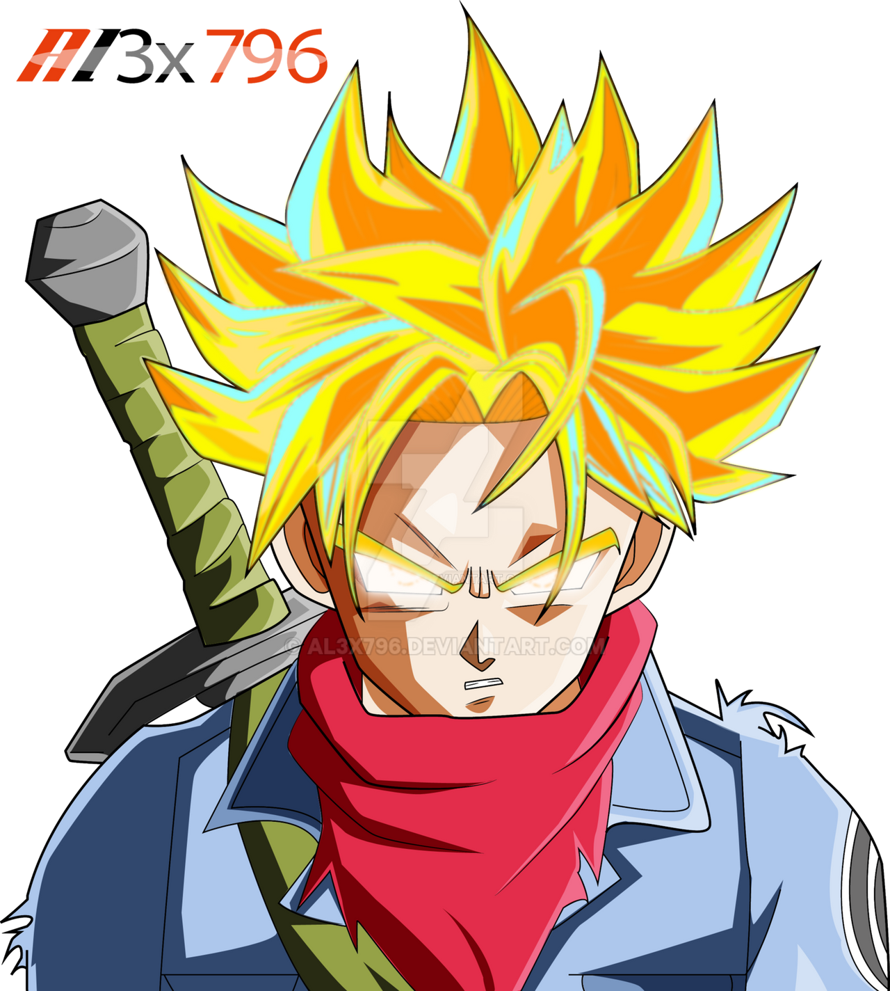 List Of Synonyms And Antonyms Of The Word: Trunks Ssj7