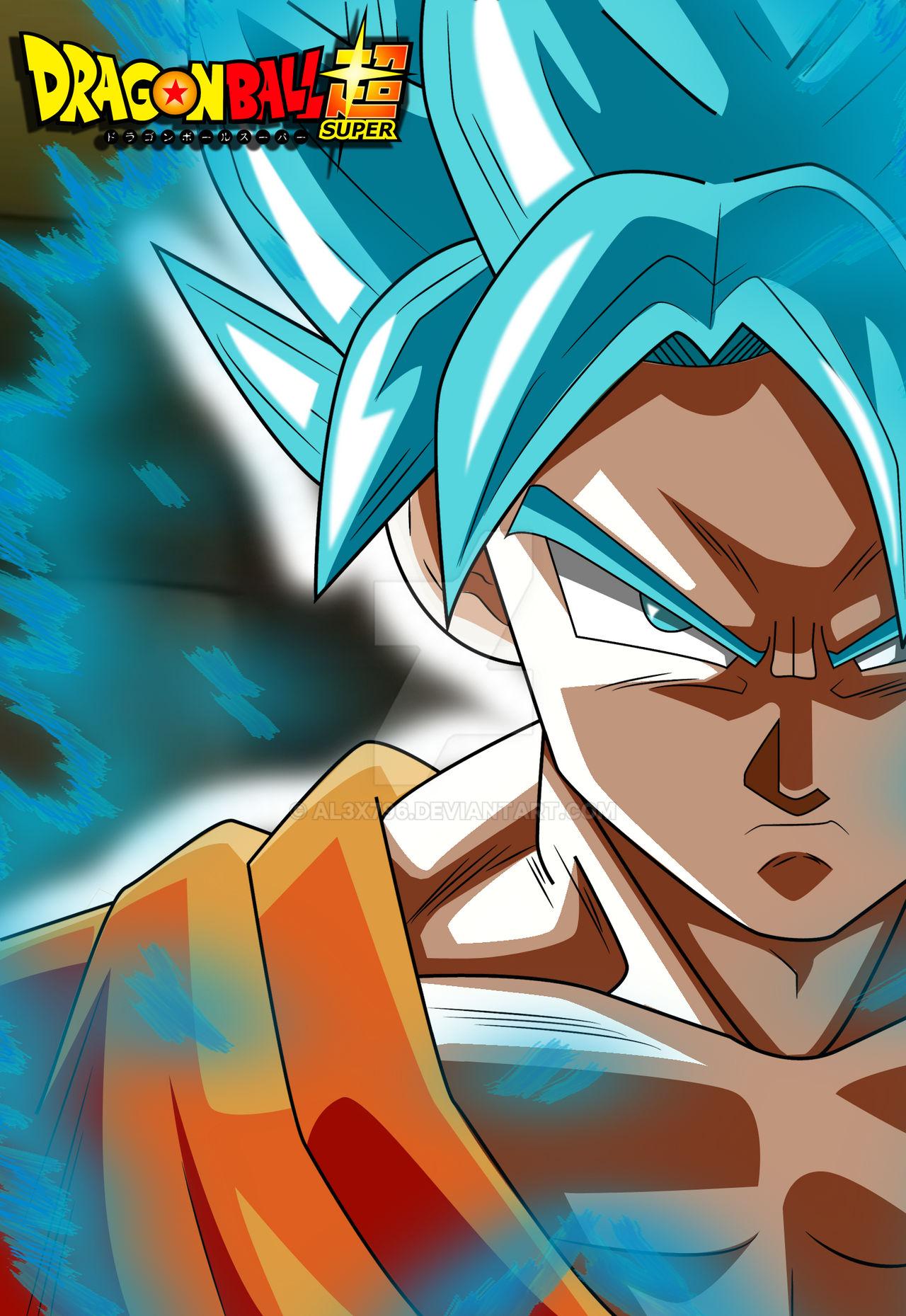 Goku Ssj Blue Survival Arc Wallpaper Hd By Al3x796 On Deviantart