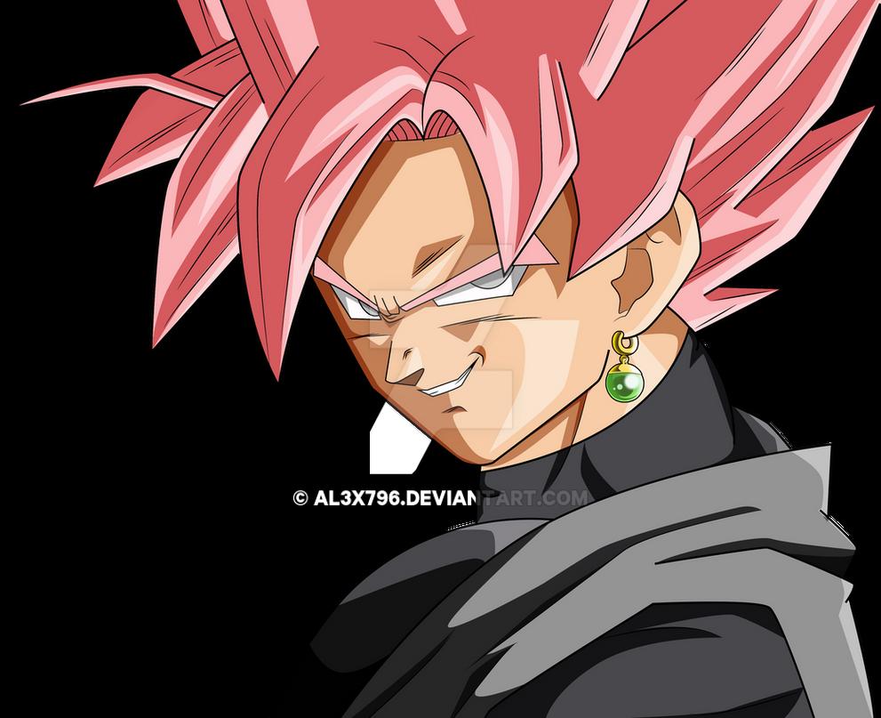 GOKU BLACK ROSE EVIL SMILE PALETTE 1 By AL3X796 On DeviantArt