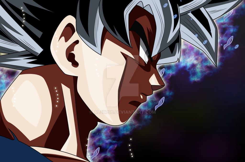 Los Mejores Fondos De Pantalla De Goku Migatte No Gokui Hd: Goku Migatte No Gokui Background Wallpaper By AL3X796 On
