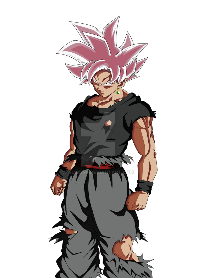 Black Goku Rose Mastered Ultra Instinct By Al3x796 On