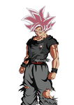 BLACK GOKU ROSE' MASTERED ULTRA INSTINCT