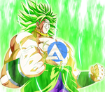 BROLY 2018 MOVIE Ki effect