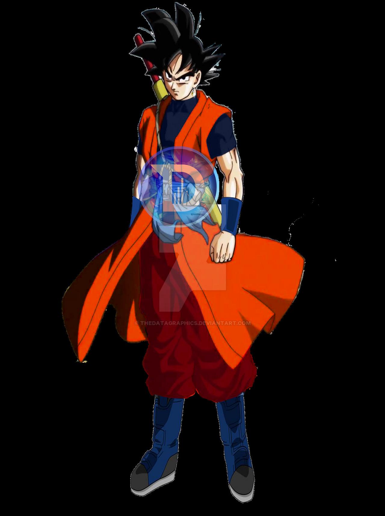 GOKU MERGED BASE FORM - SUPER DB HEROES