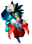 MERGED GOKU SSJBLUE 4 - SUPER DB HEROES