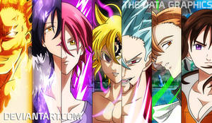 THE SEVEN DEADLY SINS  LAST FIGHT! - WALLPAPER