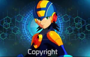 Megaman NT WARRIOR  Fan art