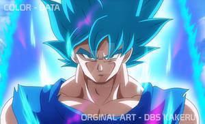 DBS BROLY GOKU BLUE  - 90 STYLE