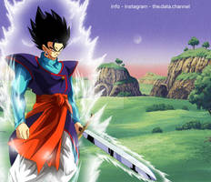 Mystic Goku Latent Power - DBZ WHAT IF POSTER