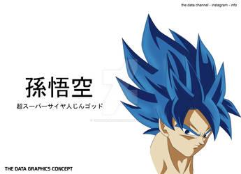 SON GOKU (SS BLUE EVOLVED) - CONCEPT