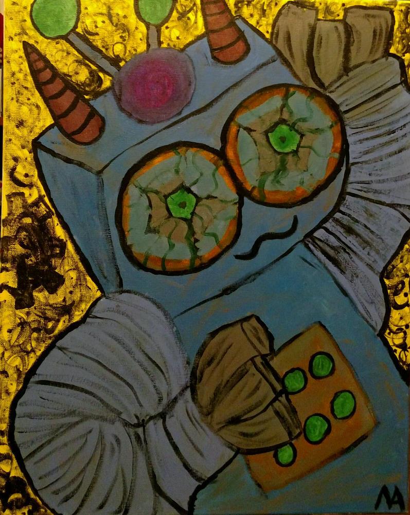 Kind Robot Dude by hi1107