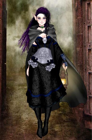 Dark Mage by hi1107