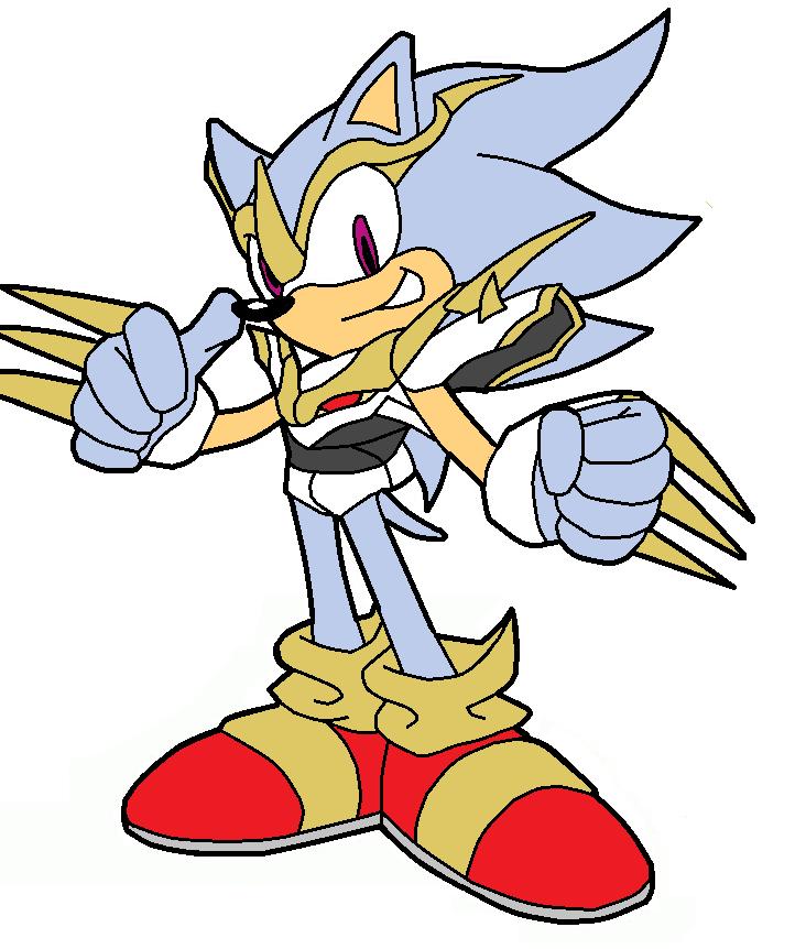 Hyper Sonic Imperialdramon Suit by pabex on DeviantArt