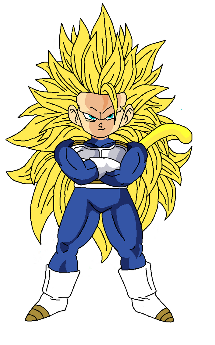 kid goku ssj3 saiyan armor by pabex on DeviantArt