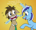 Doctor Whooves Meets Colgate