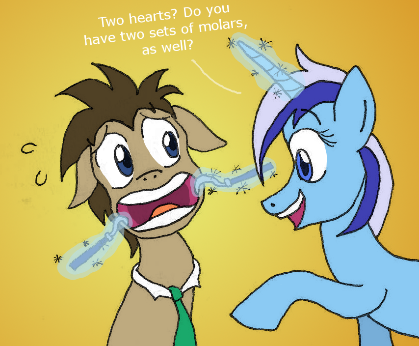 Doctor Whooves Meets Colgate by CaptainAki13