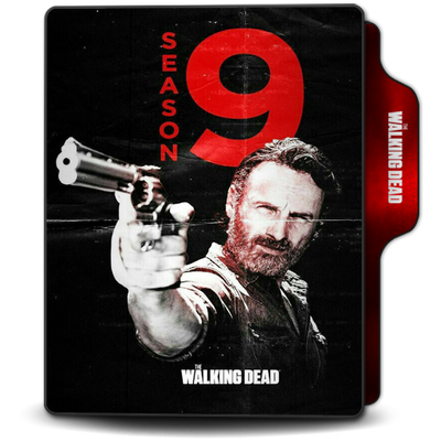 The Walking Dead Season 9 Long Folder Icon V2 By Omidh3ro On