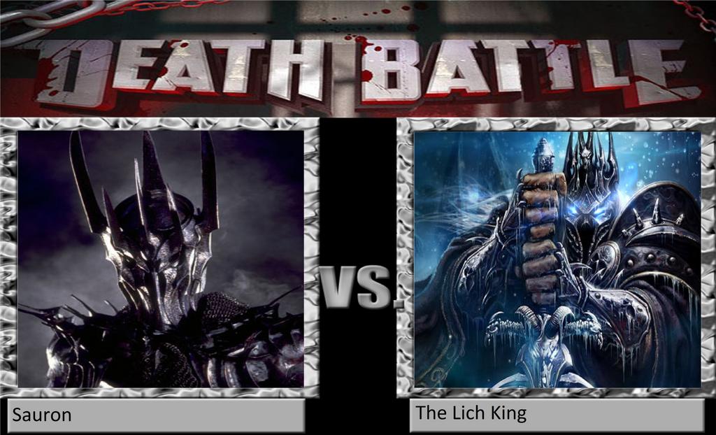 Epic] Death Battle - Sauron vs Lich King - vozForums