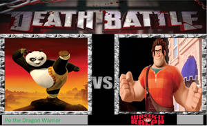 CGD64 Death Battle Po vs Ralph by CrazyGamerDragon64