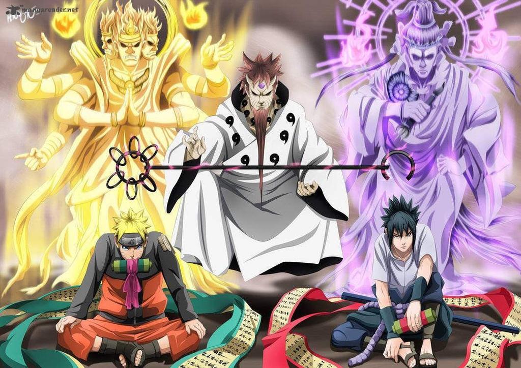 Team 7 Naruto, Sakura, Sasuke Final Form by NekoChan-Sama on ...