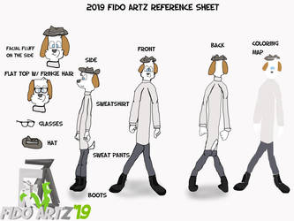 Fido Artz 2019 reference sheet
