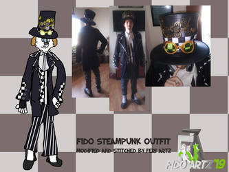 Fido steampunk outfit