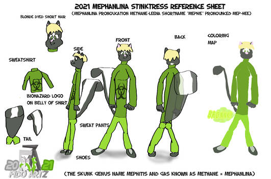 Mephanlina stinktress 2021 reference sheet