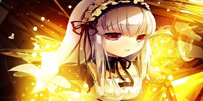 Anime Maid Glow by Meddek