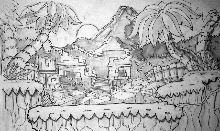 Line Art Jungle : Sketchbook the show page