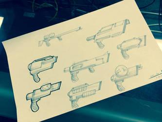HD Guns by raitheoshow