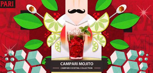 Campari Cocktail collection: Mojito
