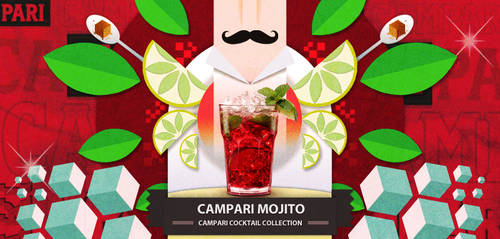 Campari Cocktail collection: Mojito by burnedbrain